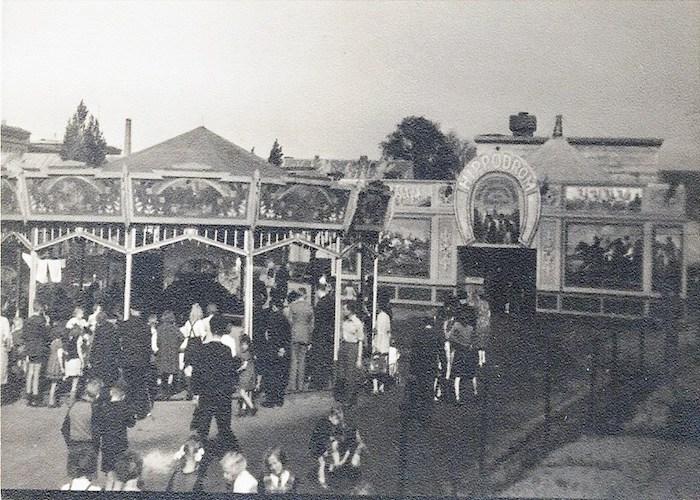 """Ponybahn-und-Hippodrom-um-1936 [Quelle: """"BREMEN History"""" / Bestand Familie Porsch]"""