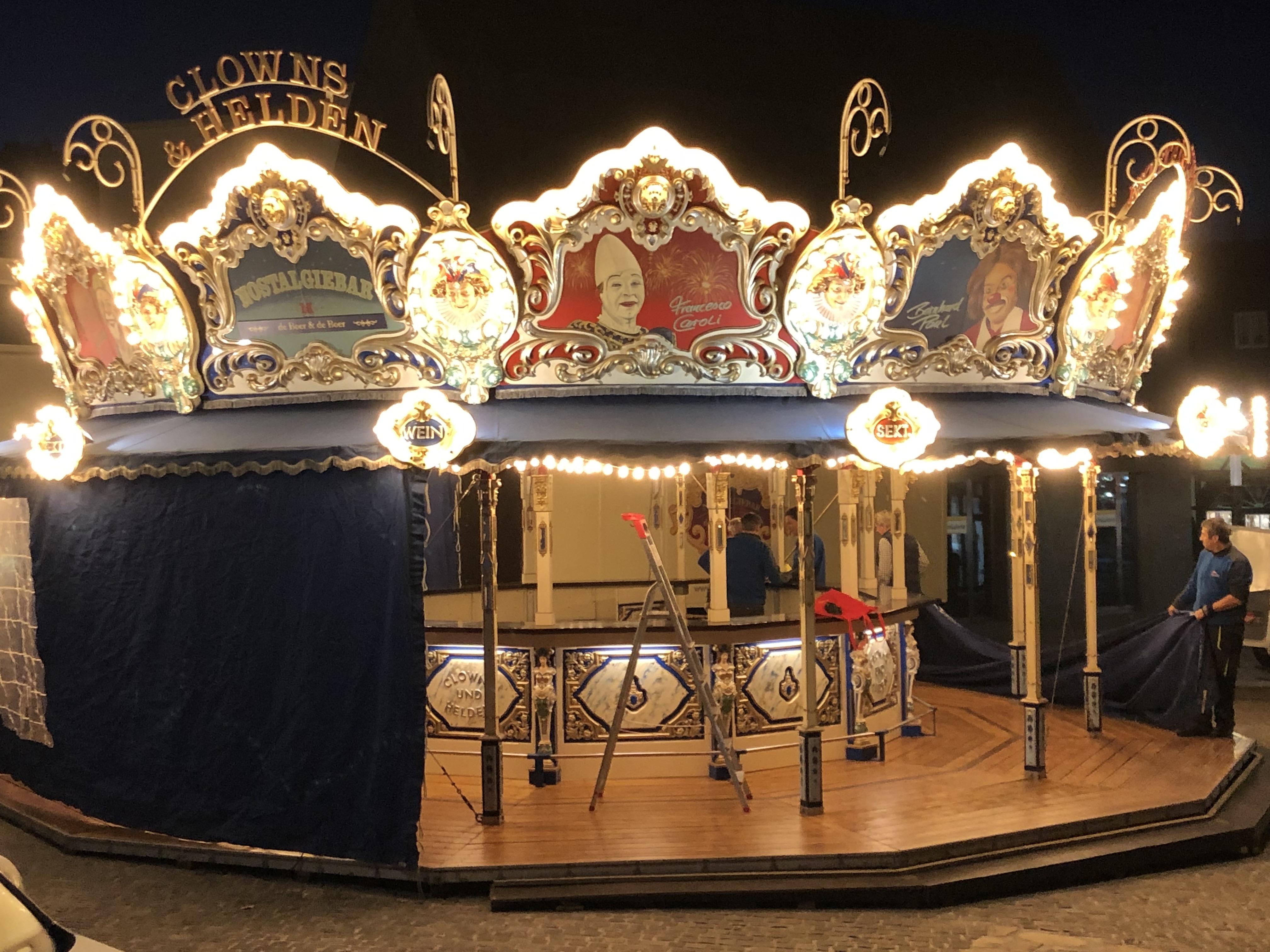 Weihnachtsmarkt Recklinghausen.Die Nostalgiebar Auf Dem Weihnachtsmarkt 2018 In Recklinghausen